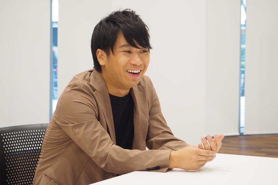 「いつかサウナをプロデュースしたいなって思ってます(笑)」とHARA(9月23日・大阪市内)