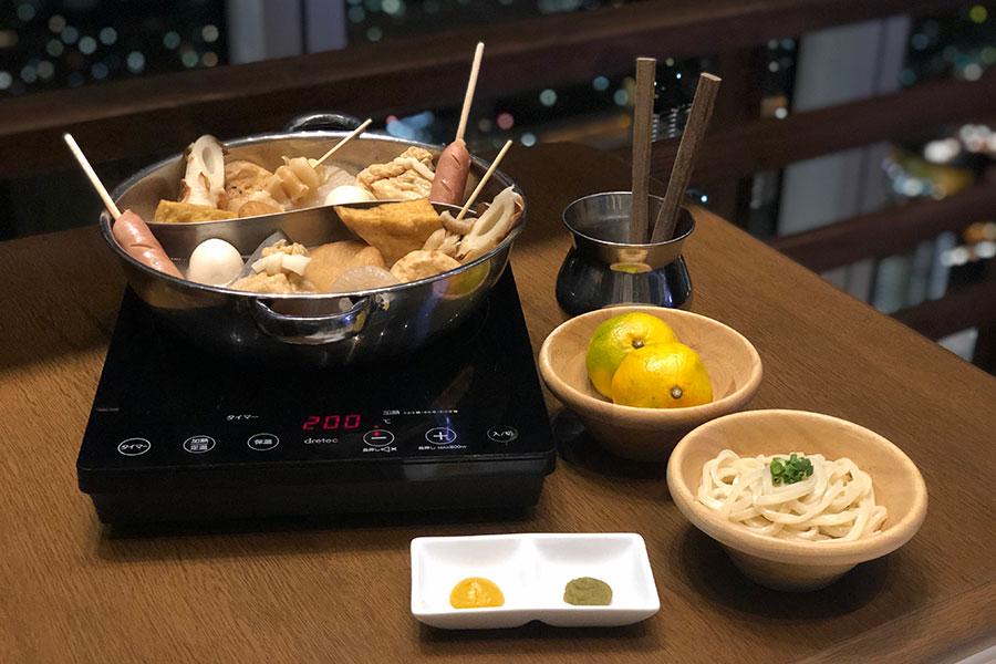 出汁自慢!焼きあごだしのおでん食べ放題コース(1時間制・ワンドリンク付・3500円)