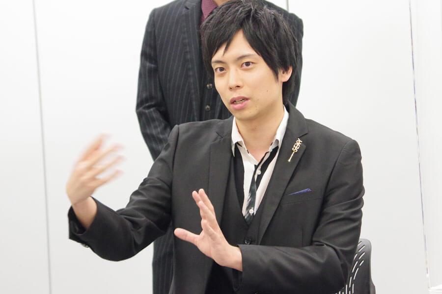 『マインド・リマインド』の会見に出席した中山義紘(10月28日・大阪市内)