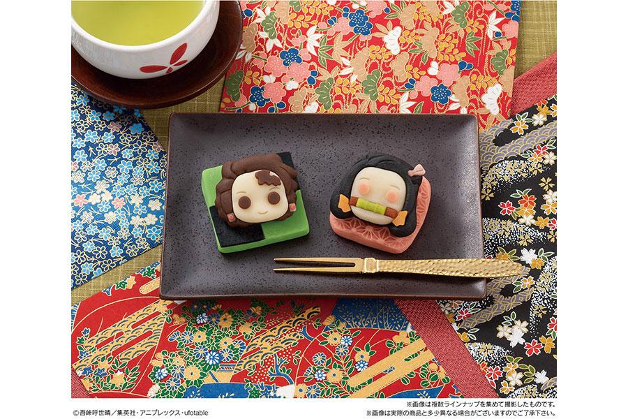 鬼滅の炭治郎&禰豆子、和菓子スイーツに「食べられない」