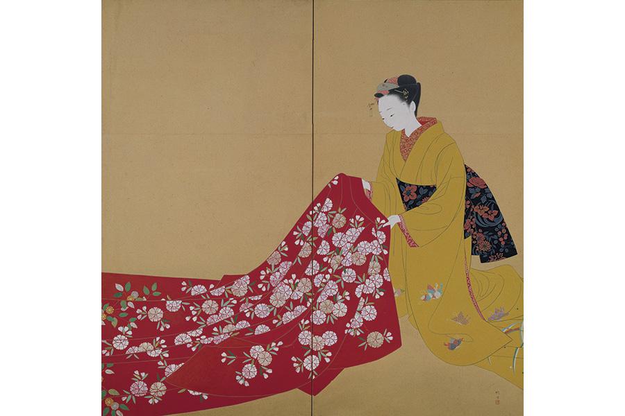 北沢映月《明裳》1940年 京都市京セラ美術館蔵