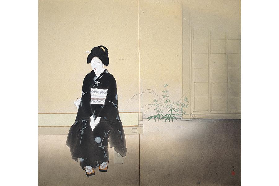 北野恒富《いとさんこいさん》1936年 京都市京セラ美術館蔵