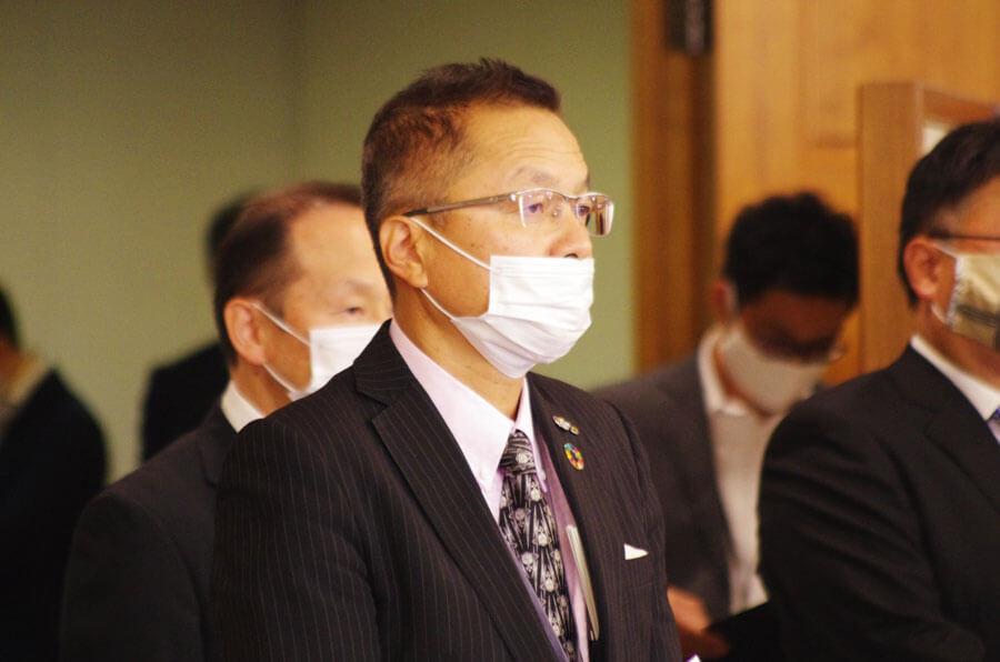 大阪港湾局長を任され、「全国2位の規模を扱うことに、改めて気が引き締まる」と語った田中利光局長(10月1日・大阪市内)