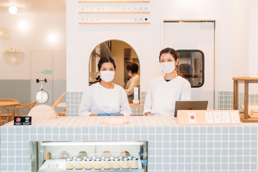 『変なホテル奈良』1階にオープンしたカフェレストラン『お天気パーラー』(画像提供 青春)