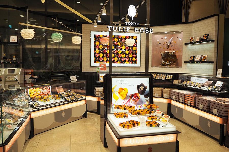 関西初の常設店「TOKYOチューリップローズ」が「阪急うめだ本店」にオープン