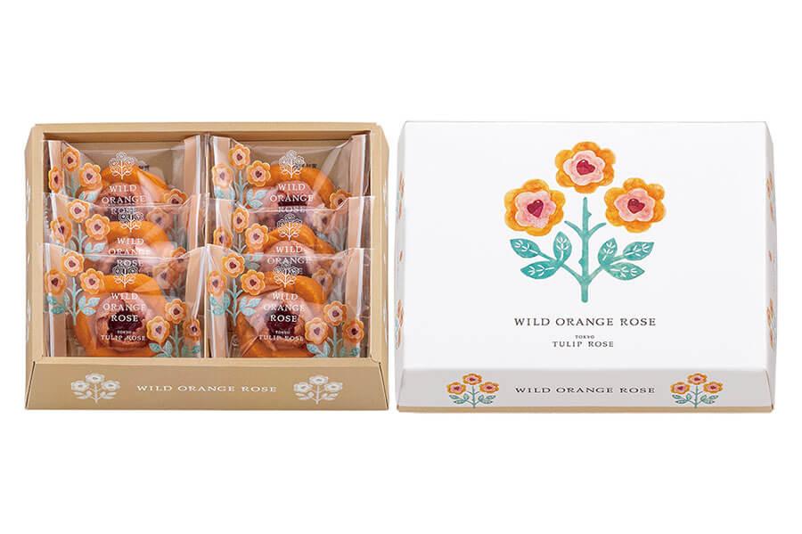 「ワイルドオレンジローズ」(6個入・1188円、12個入・2376円)