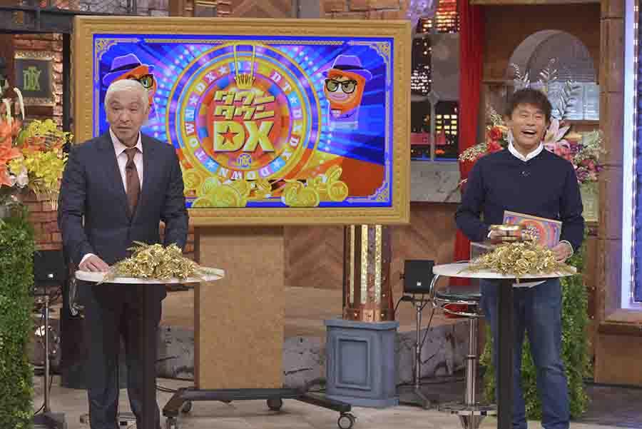 左から、松本人志、浜田雅功(c)ytv