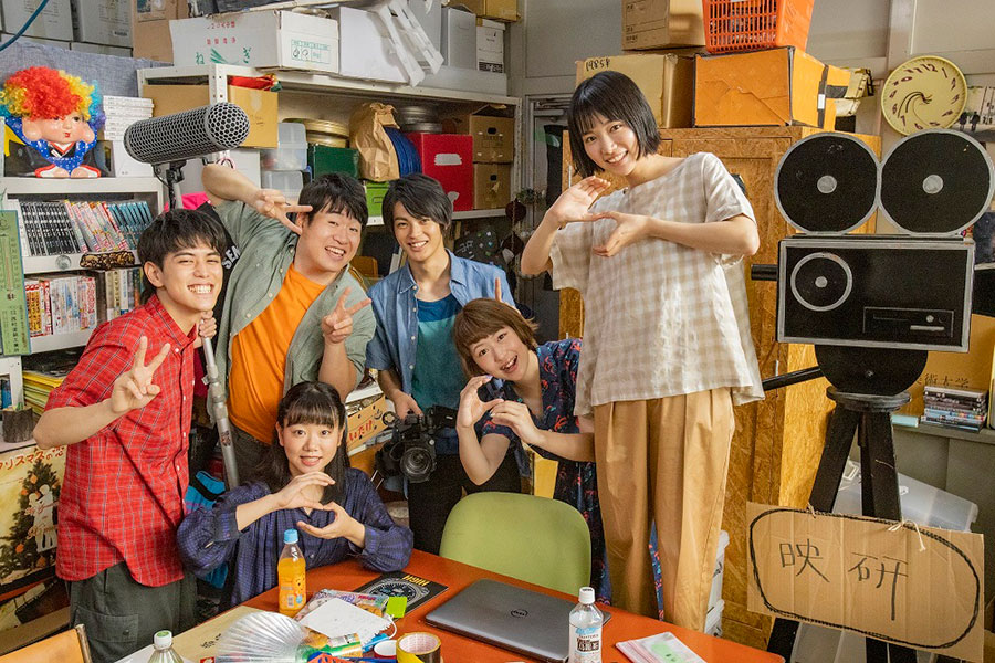 『HiGH&LOW THE WORST』の神尾楓珠、ナイロン100℃所属で『カツベン』などに出演した森田甘路らが映研部員らを演じる