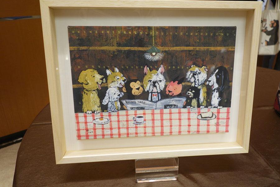 絵本作家・谷口智則が自分のために作品を描いてくれるペインティング福袋。限定1名15万円
