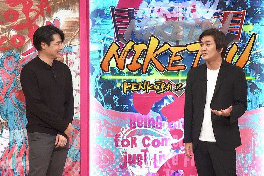 ゲストとして登場した平成ノブシコブシ(左から吉村、徳井)(C)ytv