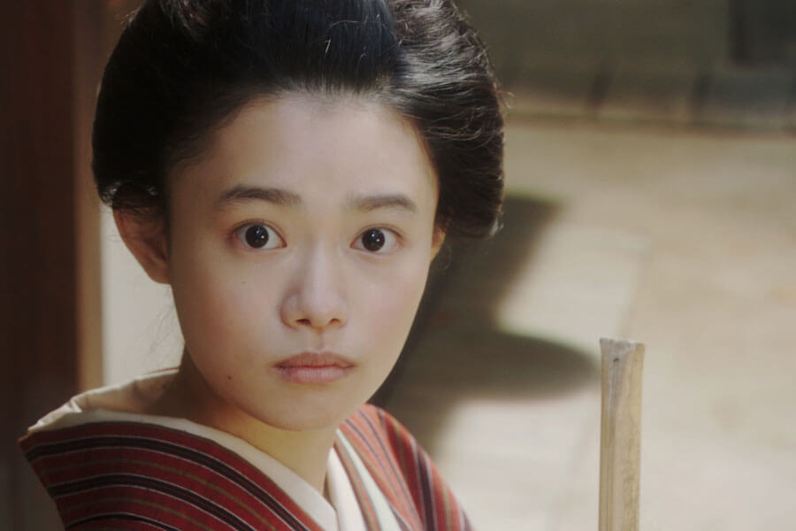 連続テレビ小説『おちょやん』でヒロイン千代を演じる杉咲花 (C)NHK