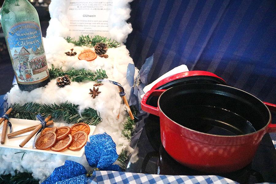 ワインを使った伝統的なクリスマスドリンク「グリューワイン」