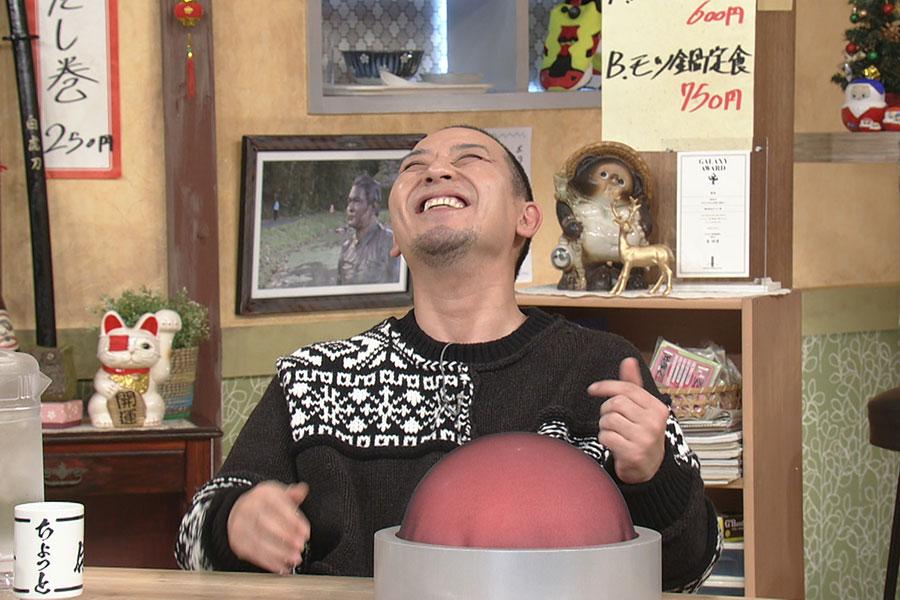 『モーニング娘。ー1グランプリ』に喜ぶ大悟 (C)ABCテレビ