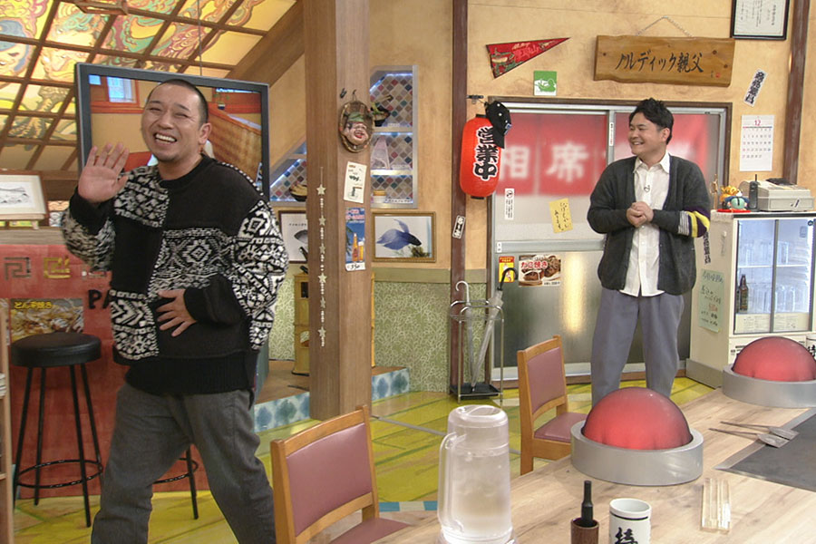 『モーニング娘。ー1グランプリ』に喜ぶ千鳥 (C)ABCテレビ