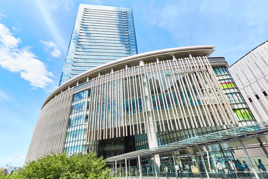 JR大阪駅北側にある、グランフロント大阪ショップ&レストラン