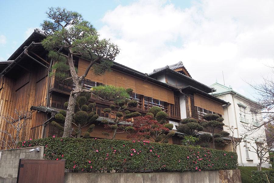 非公開だった神戸の歴史ある建物で、老舗料亭の美味&文化体験