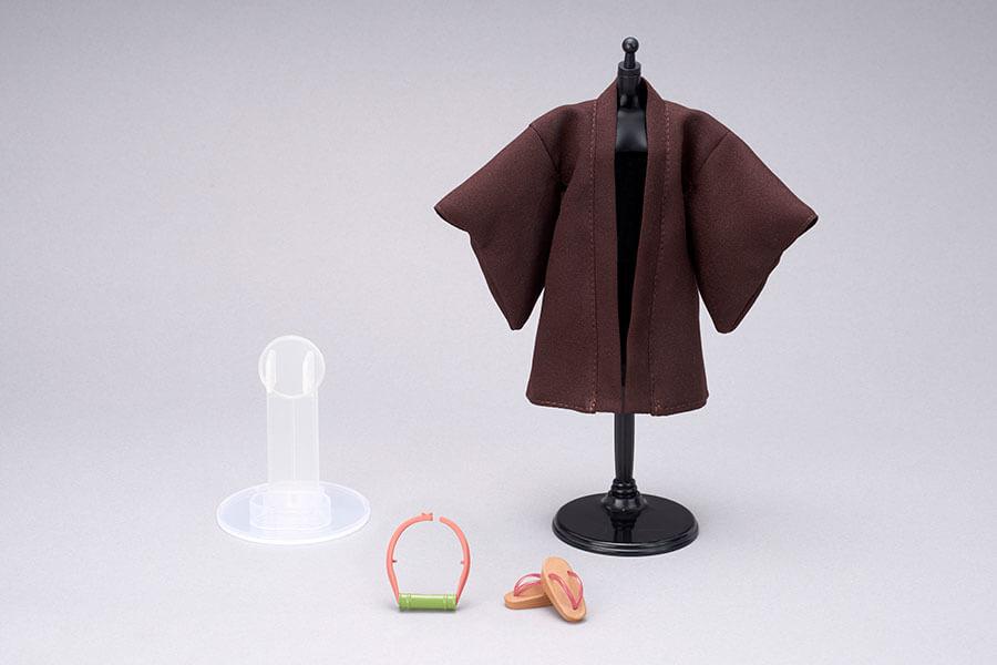 作中のシチュエーションに合わせて、羽織などを着せ替えできるのも魅力