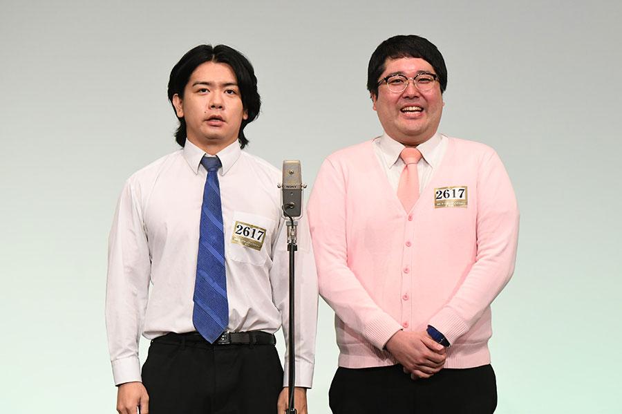 マヂカルラブリー (左:野田クリスタル 右:村上)(C)M-1グランプリ事務局