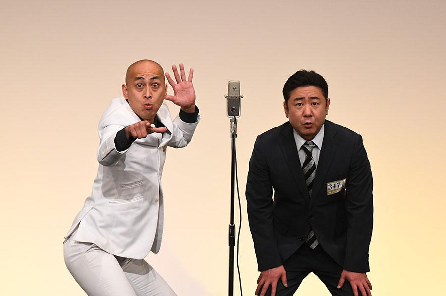 錦鯉 (左:長谷川雅紀 右:渡辺隆)(C)M-1グランプリ事務局