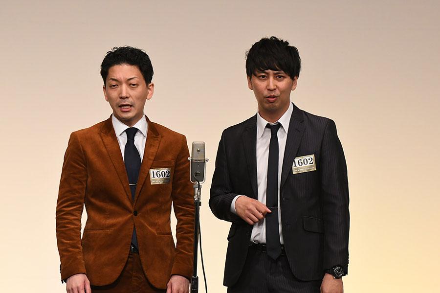 ニューヨーク (左:嶋佐和也 右:屋敷裕政)(C)M-1グランプリ事務局
