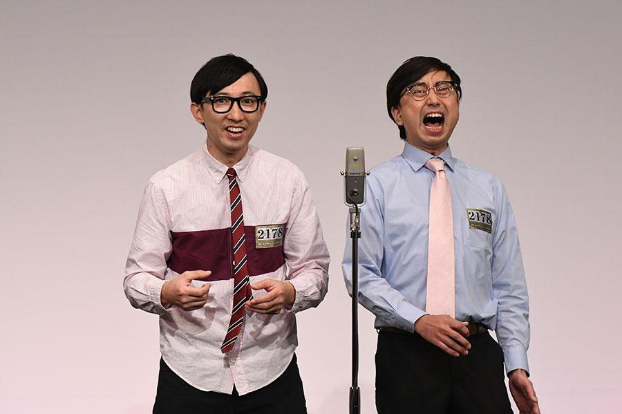 おいでやすこが (左:こがけん 右:おいでやす小田)(C)M-1グランプリ事務局
