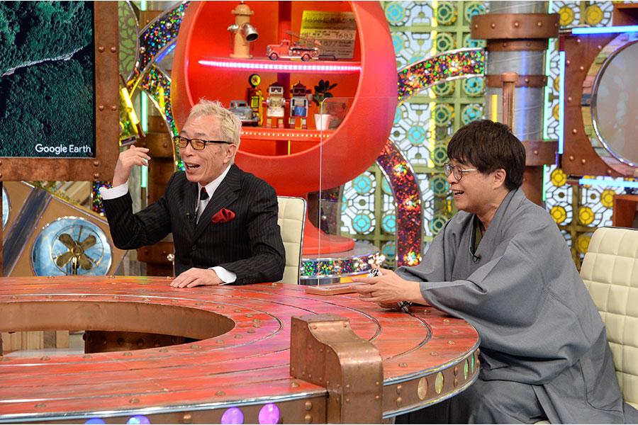 左から所ジョージ、立川志らく (C)ABCテレビ