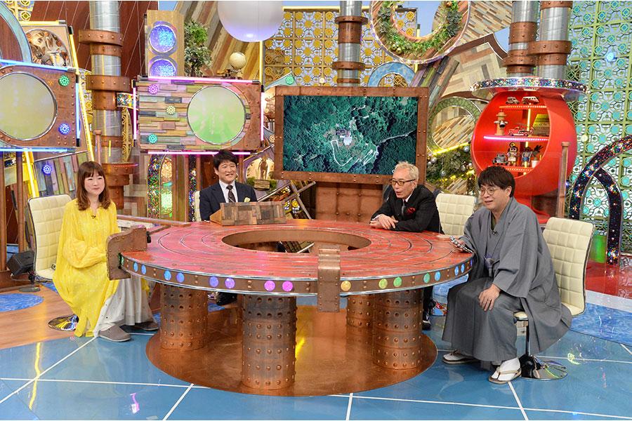 左から山瀬まみ、林修、所ジョージ、立川志らく (C)ABCテレビ