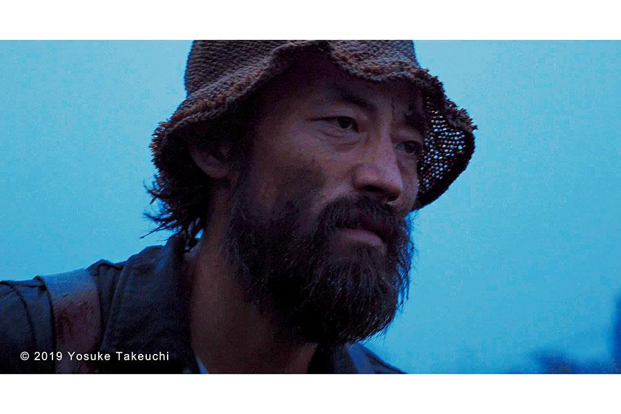 ゴッホに近い役作りを目指し、体重を20キロ近く落とし、歩き方なども半年前から練習した岸建太朗。俳優としても、監督としても活躍する。(C)2019 Yosuke Takeuchi