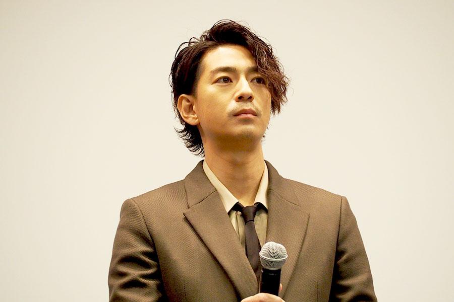 「五代がいて成り立った僕の龍馬なので、彼には感謝してもしきれない」と話す三浦翔平(3日・大阪市内)