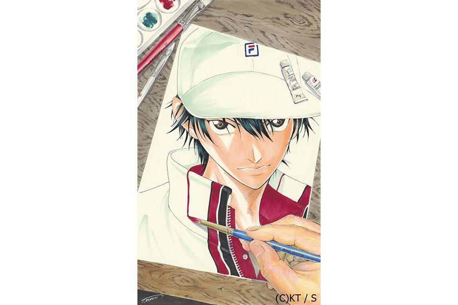 『連載20周年記念 テニスの王子様大原画展』(C)許斐剛/集英社