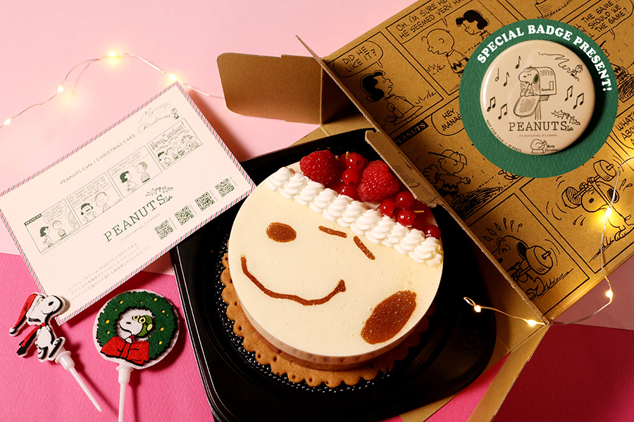 SNOOPY CHRISTMAS ケーキ 5200円(税別)  (C) 2020 Peanuts