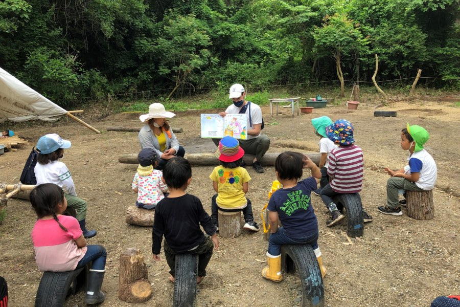 「Awaji Kids Garden」過去のイベントの様子