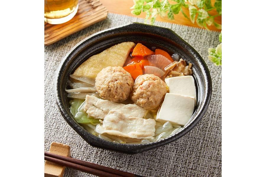 12品目の塩ちゃんこ鍋(498円)