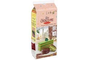 チョコパイが京都の人気洋菓子店とコラボ、抹茶ケーキを再現