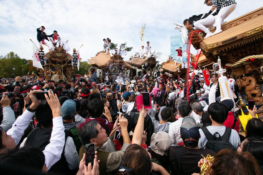 『ハルまちフェスティバル』の一環として紹介される大阪南部を代表する『だんじり祭』(写真は過去のイベントの様子)