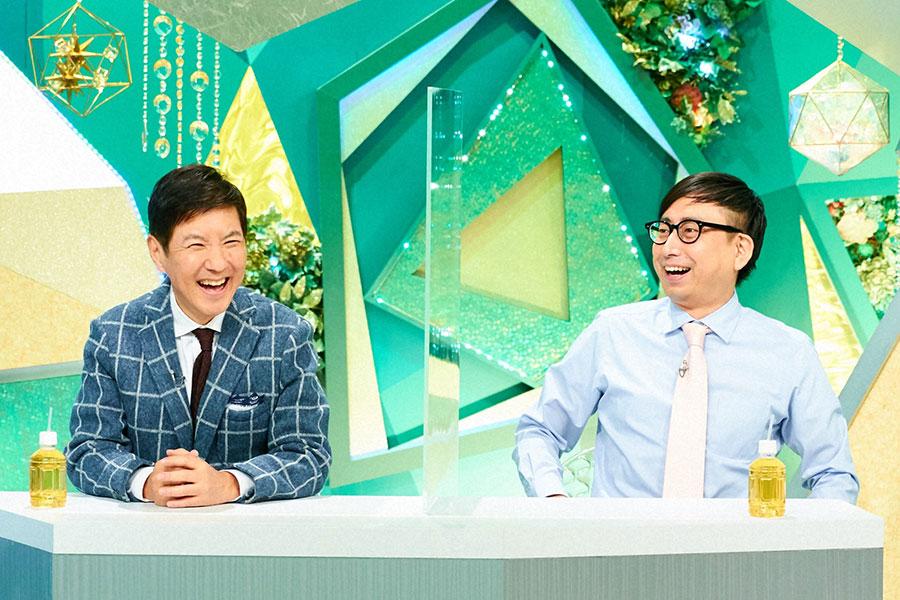 ゲストの関根勤(左)、おいでやす小田 (C)ABCテレビ