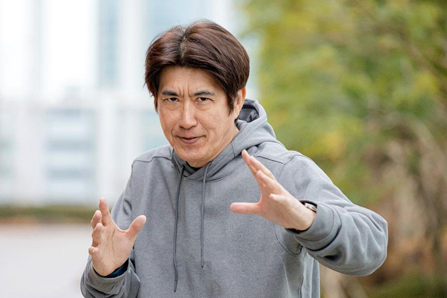 『情熱大陸』に登場する石橋貴明(写真提供:MBS)