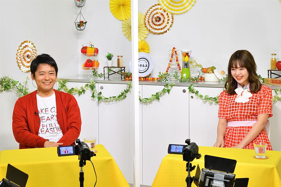 ロザン・菅広文(左)、藤田ニコル(写真提供:MBS)