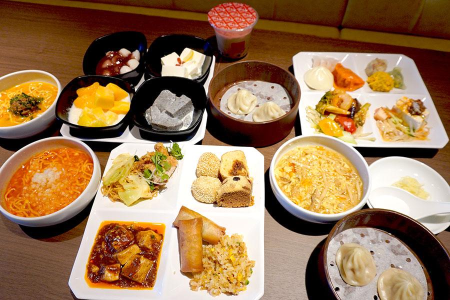 小籠包やスイーツが食べ放題、心斎橋に台湾料理ブッフェ