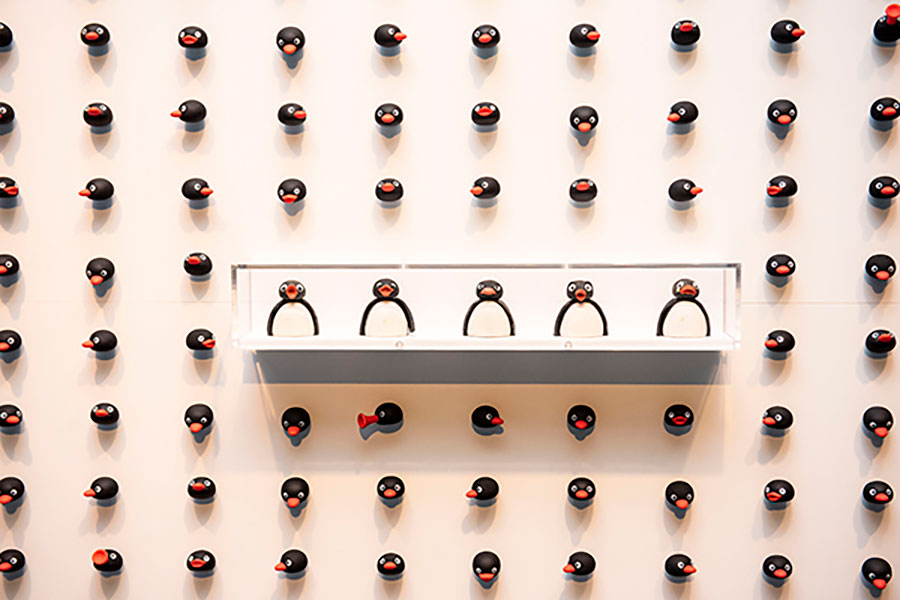 40周年のピングー展が大阪に、クレイ人形など約400点