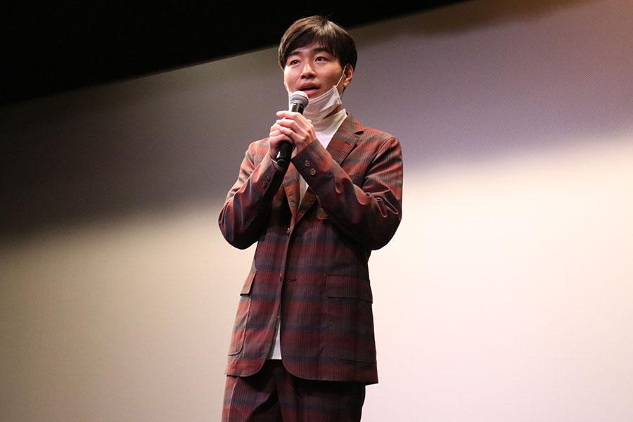 映画では映画監督を目指し、劇団を立ち上げるという主役・木下勇太を演じる後藤