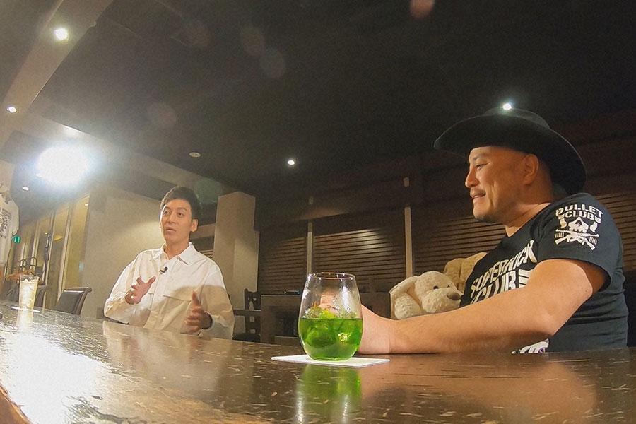 村田秀亮(とろサーモン)とハリウッドザコシショウ (C)ABCテレビ