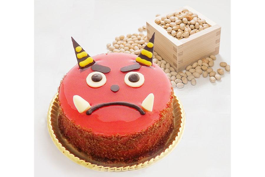 静岡より西の地方で販売される「おにのケーキ」(1404円)