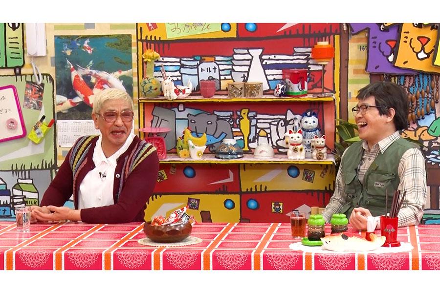 左からお母ちゃん(松本人志)、お父ちゃん(蛍原徹)(C)ABCテレビ