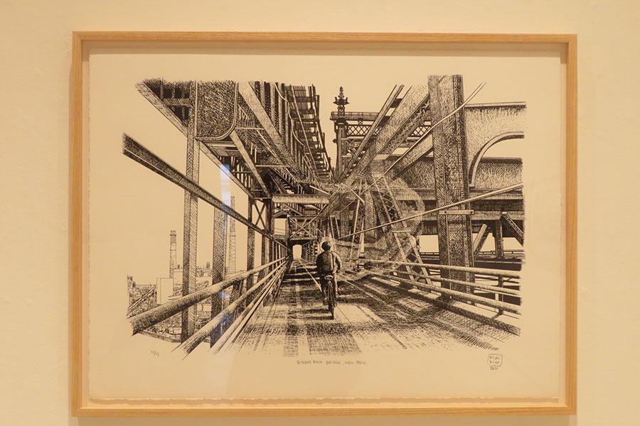 『Queenboro Bridge, New York / クイーンズボロ橋、ニューヨーク』 2020年