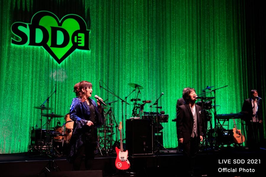 渡辺美里とスターダスト・レビューによるコラボでは、『愛の歌』を披露 (LIVE SDD 2021 Official Photo)