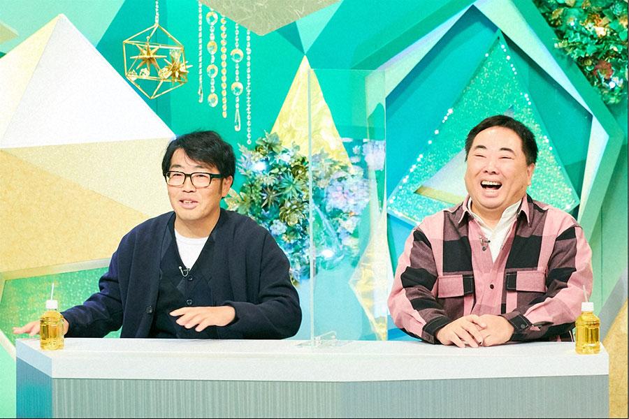 ゲストのドランクドラゴン(左から鈴木拓、塚地武雅)(C)ABCテレビ
