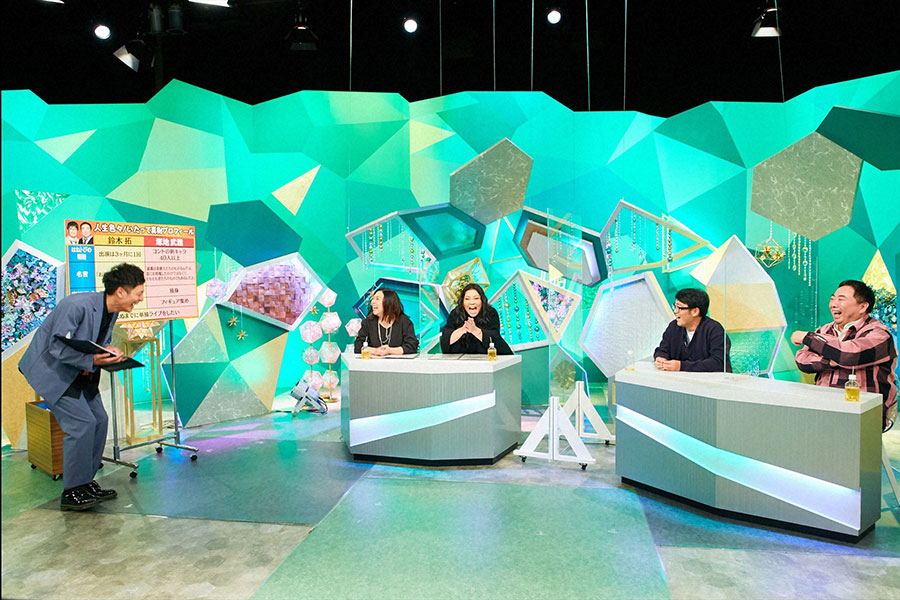 スタジオのようす(C)ABCテレビ