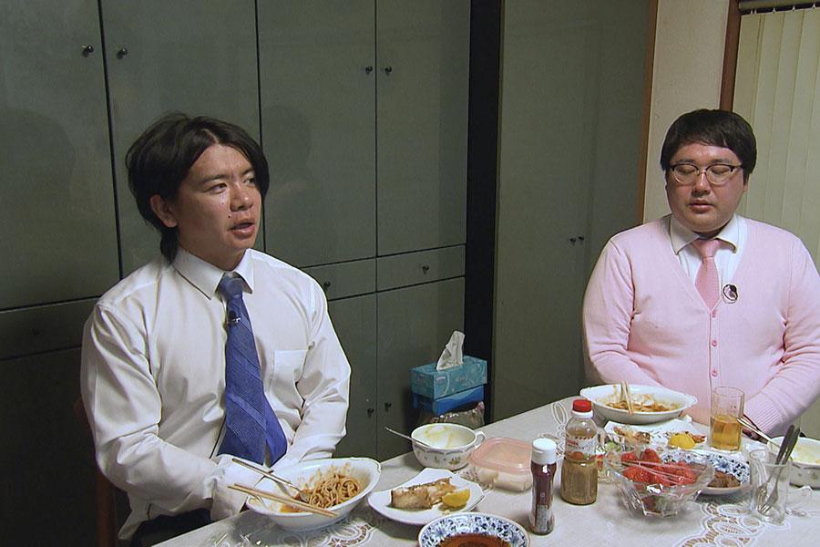 相席食堂SPに出演するマヂカルラブリー (C)ABCテレビ