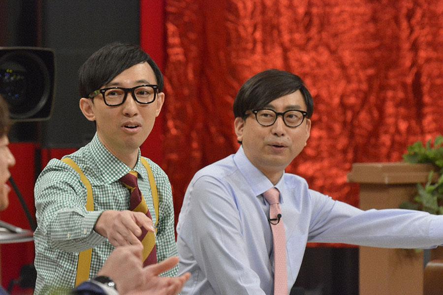 おいでやすこが(左からこがけん、おいでやす小田)(C)ytv